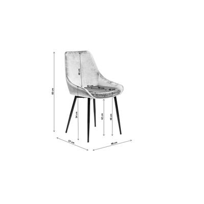 Silla East Side gris