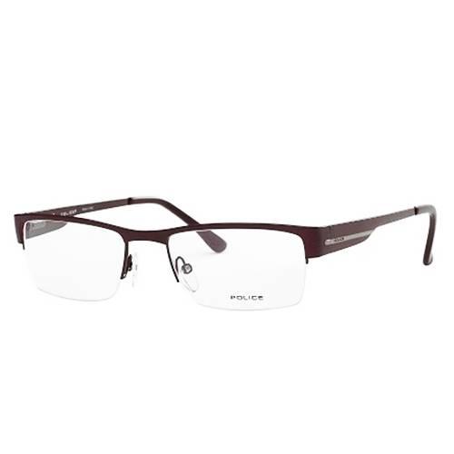 Gafas Oftálmicas Vinotinto-Transparente 8606-8DU