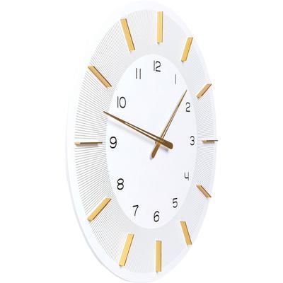 Reloj pared Lio blanco Ø60