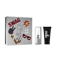 Set CH 212 VIP Men 100ml + Shower Gel 100ml