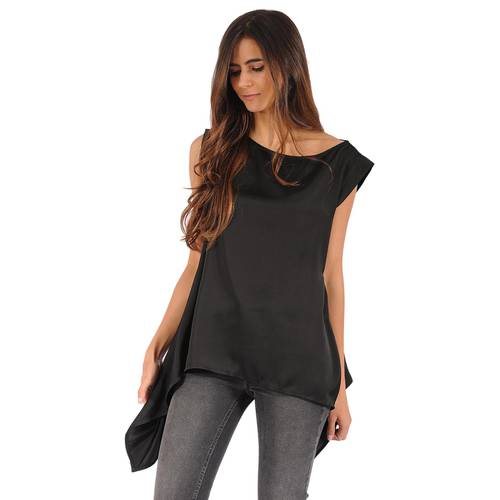 Blusa Camille Color Siete para Mujer - Negro
