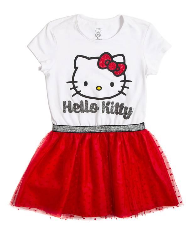 Vestido Niña Hello Kitty