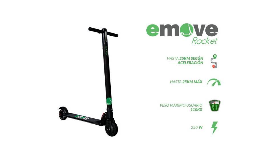 Scooter eléctrica Emove Rocket