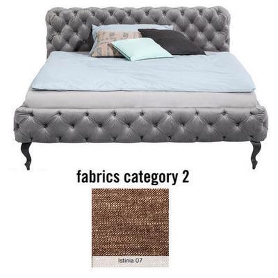 Cama Desire, tela 2 - Istinia 07, (100x177x228cms), 160x200cm (no incluye colchón)