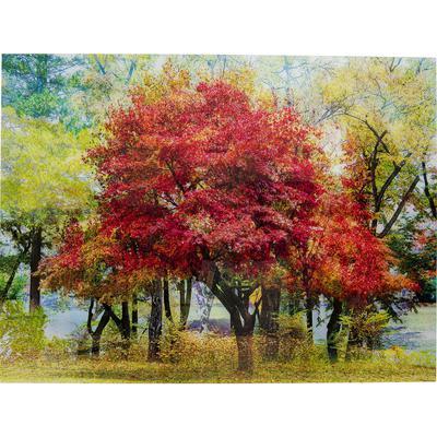 Cuadro cristal Red Tree 160x120
