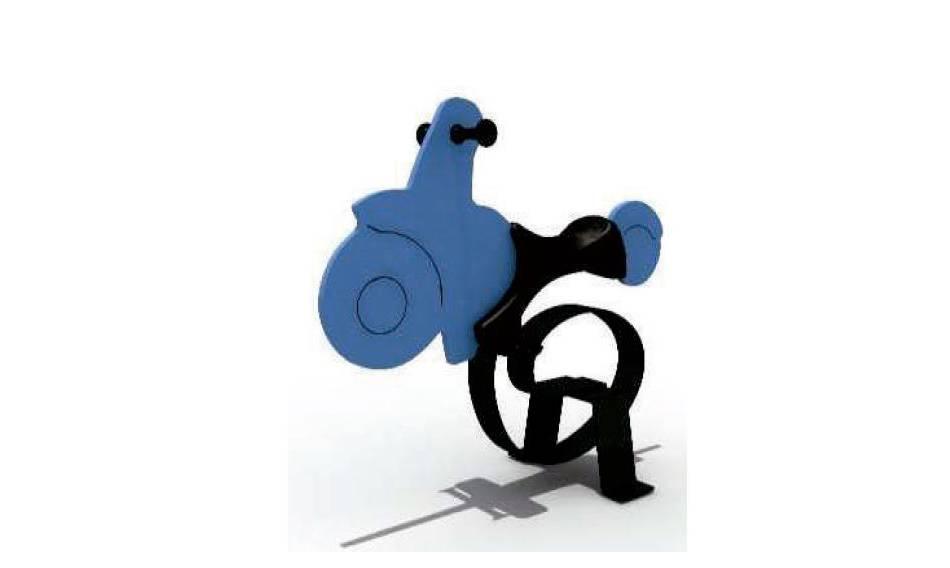 MOTOCICLETA BLUE EVOLUTION