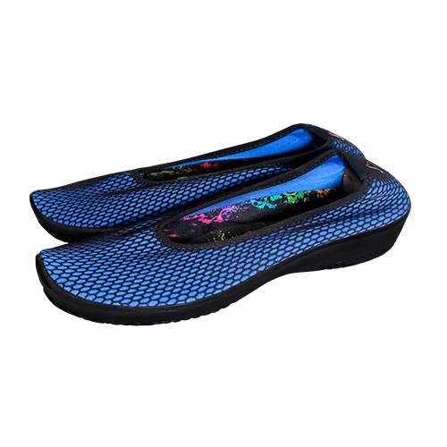 Zapatos Casual Azul-Negro