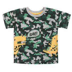 Camiseta manga corta de dinosaurio