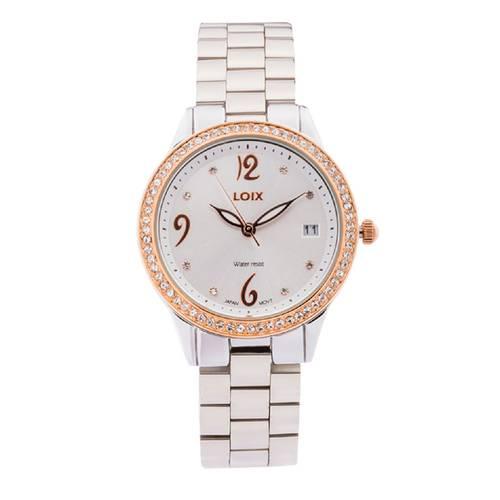 Reloj Blanco - Plateado - L1152-02