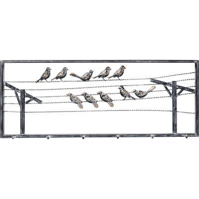 Perchero pared Bird On The Line