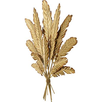 Decoración pared Leaf Bouquet oro