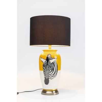 Lámpara mesa Zebra amarillo