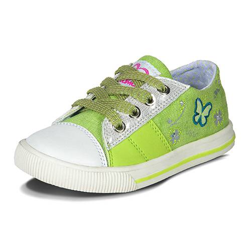 Zapatos Ania Verde Beige
