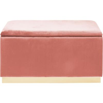 Banco Cherry Storage rosa 120cm