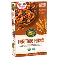Natures Path Cereal Heritage Flakes 375 Gr