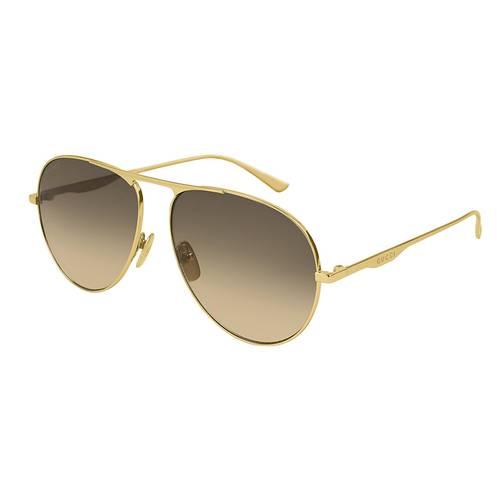 Gafas de sol oro-café -001