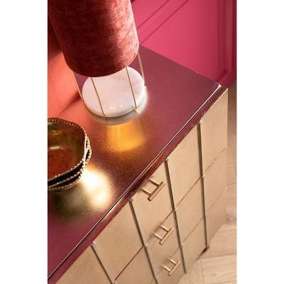 Lámpara mesa Cafeteria Lounge rosa 40cm
