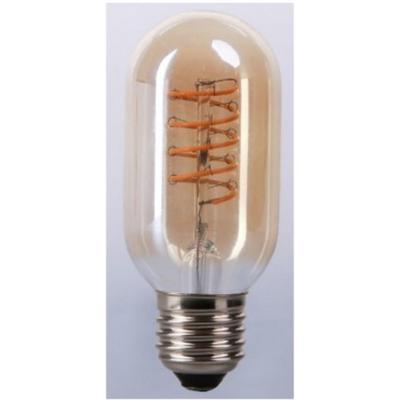 Bombilla de filamento LED ámbar Forma T45 - Rosca E27 - Luz Cálida - Dimerizable