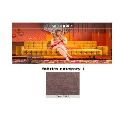 Sofá, 3 puestos, Milchbar, tela 1 - Tiago  9905  (230x72x80cms)