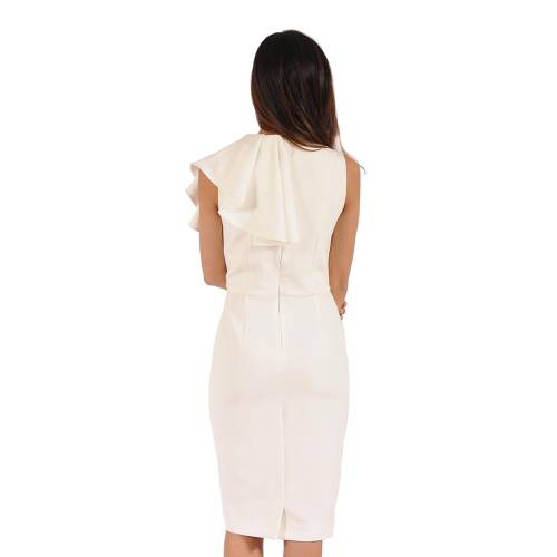 Vestido Color Siete Para Mujer Beige - Beige