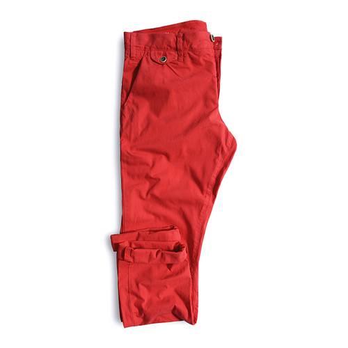 Pantalon Cavalier Color Siete para Hombre - Rojo