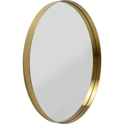 Espejo Curve MO redondo latón  Ø100cm