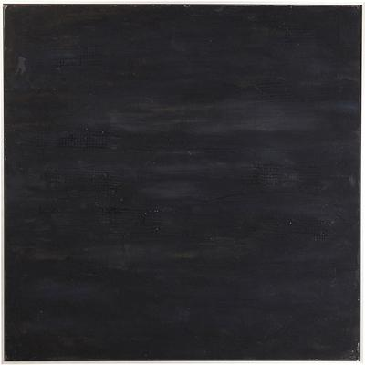 Cuadro Abstract Deep negro 155x155cm