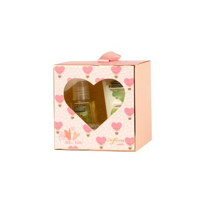 Estuche Sefora Dúo WITH LOVE FROM ME TO YOU Coconut temptation 30G