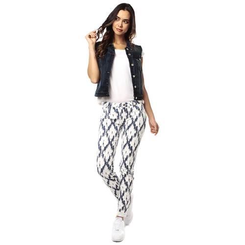 Pantalon Color Siete para Mujer - Blanco