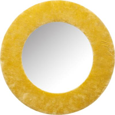 Espejo Cherry amarillo Ø80cm