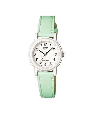 Reloj análogo blanco-verde L-3B