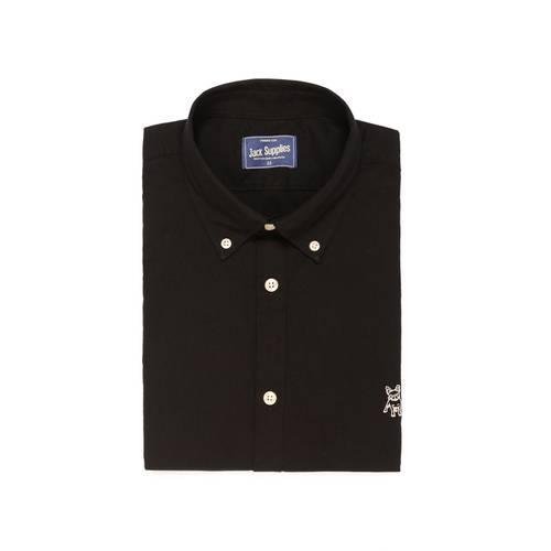 Camisa Manga Corta Jack Supplies para Hombre  - Negro
