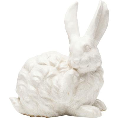 Objeto decorativo Rabbit blanco 31cm