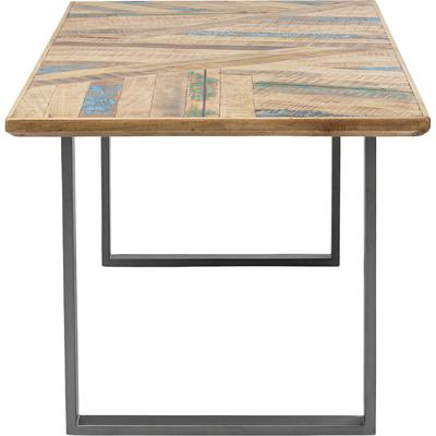 Mesa Abstract acero 180x90