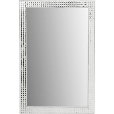 Espejo Crystals Steel blanco 80x60cm