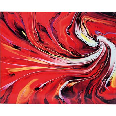 Cuadro cristal Chaos Fire Glas 150x120cm