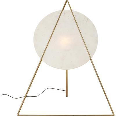 Lámpara pie Triangle Marble blanco