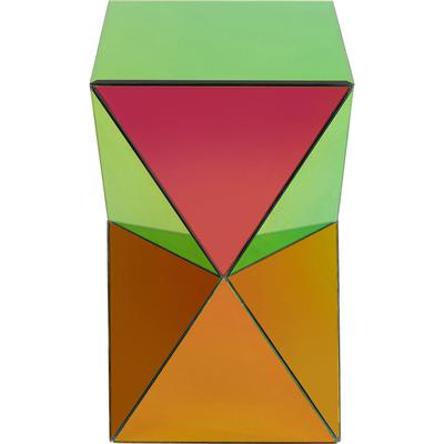 Mesa auxiliar Luxury Triangle Rainbow