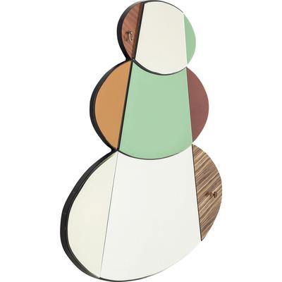 Espejo Metamorphosis Circles 107x150cm