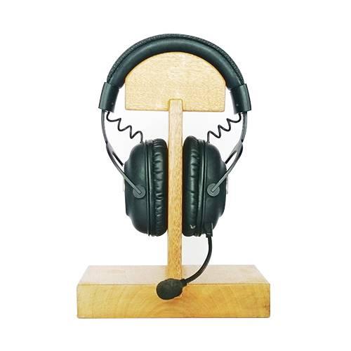Porta Audífonos En Madera