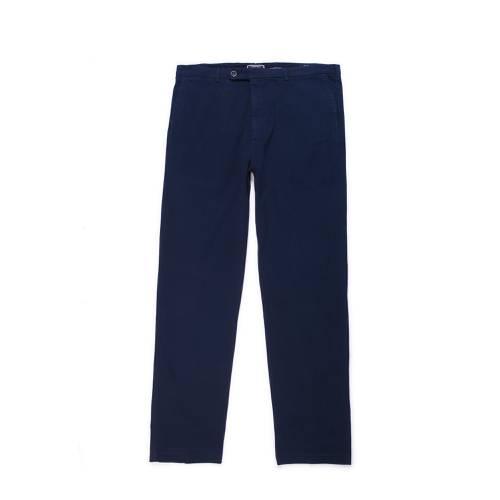 Pantalon Cavalier Color Siete Para Hombre  - Azul