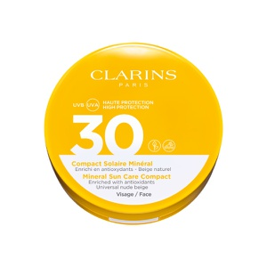 Protector Solar Facial Mineral Compacto Clarins SPF30