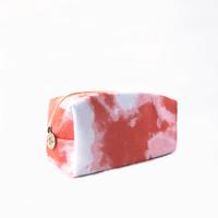 Cosmetiquera Tie Dye Coral