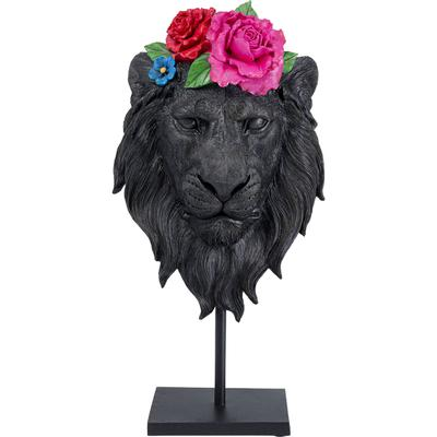 Objeto decorativo Mask Lion Flower
