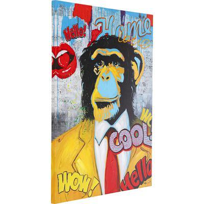 Cuadro  Show Monkey 120x90cm