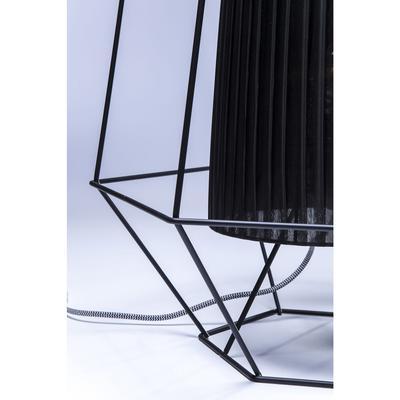 Lámpara mesa Wire negro