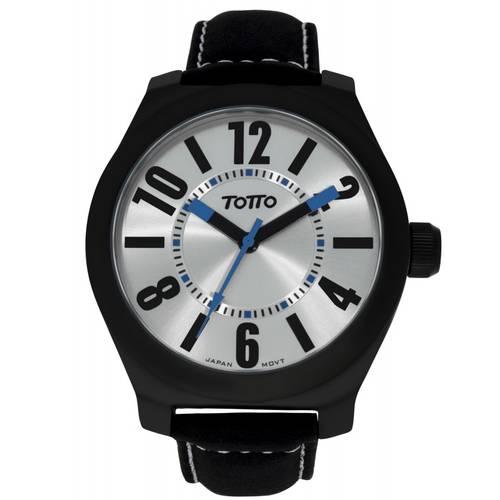 Reloj análogo plateado-negro 26-3