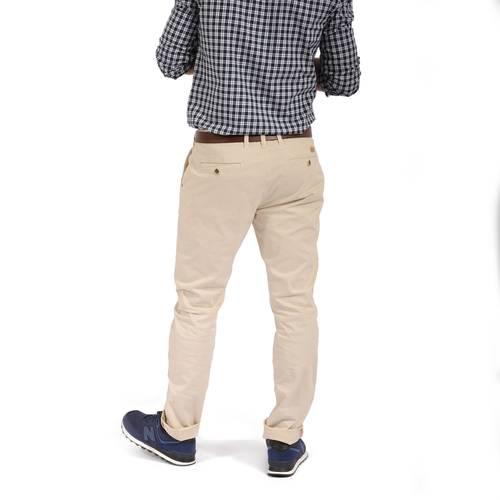 Pantalon Cavalier Color Siete para Hombre - Beige