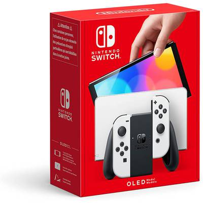Nintendo Switch OLED Model Joy-Con White Blanco Negro