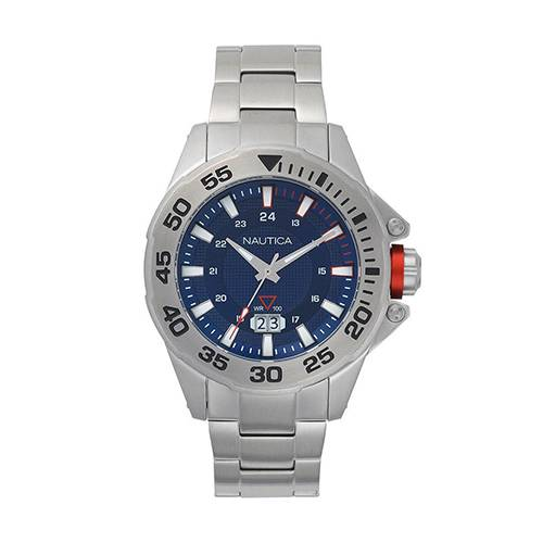 Reloj Westview Azul - Plateado
